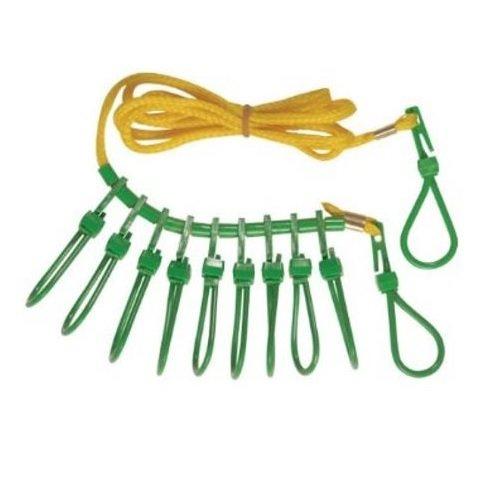 nylon fish stringer with snaps